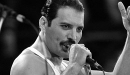 Freddie Mercury, het laatste podium