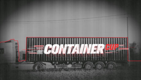 De container
