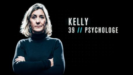 Psychologe Kelly moest als eerste De Mol verlaten.